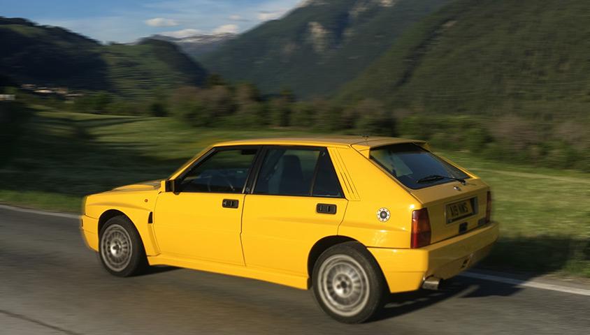 Crossing The Alpines in a Lancia Delta Integrale