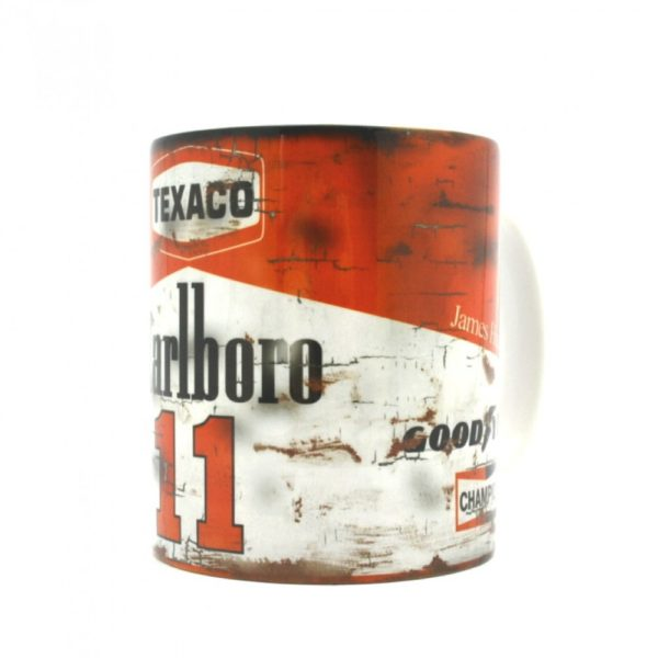 James Hunt Racing Mug