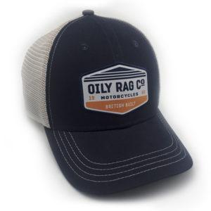 Oily Rag Motorcycle Trucker Cap