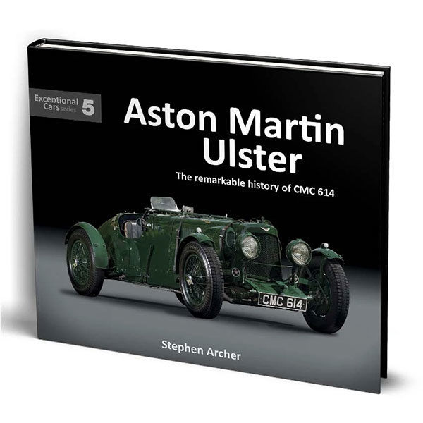 Porter Press - Aston Martin Ulster: The Remarkable History of CMC 614